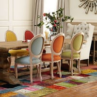 Melody Chairs and table bold colors