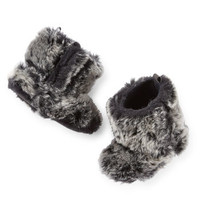 Carter's Faux Fur Crib Boots