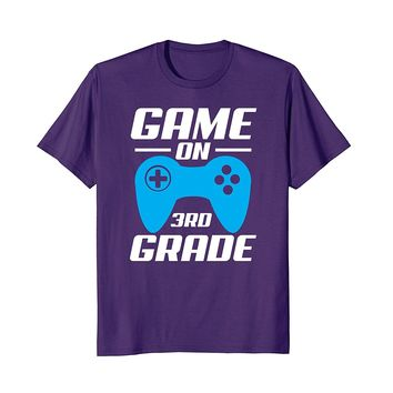 Game on Video Controller 3rd Grade Funny T-Shirt