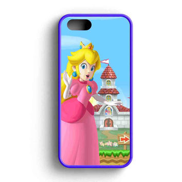 Mario And Princess Peach Left  iPhone 5 Case iPhone 5s Case iPhone 5c Case