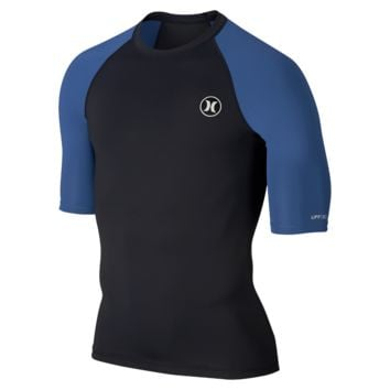 Hurley Icon Short-Sleeve Men's Rashguard