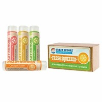 Crazy Rumors Juice Collection - Natural Balm 4 Pack Gift Set