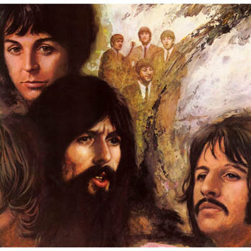 The Beatles Long and Winding Road Poster 11x17