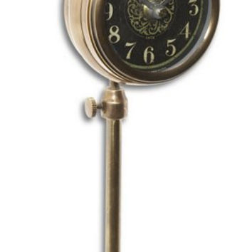 Uttermost Pocket Watch Brass Woodburn - 06069