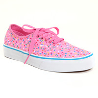 Vans Pink Sprinkles Authentic Lace-Up Sneakers | Hot Topic