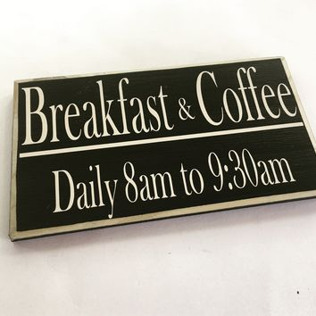 10x6 Custom Bed and Breakfast Wood Sign