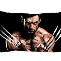 "Logan Wolverine X-men Zippered Pillow Case 16""x 24"" - 2 sides Cushion Cover"