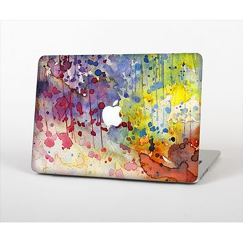The WaterColor Grunge Setting Skin Set for the Apple MacBook Air 11""