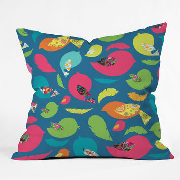 Arcturus Cheerful Throw Pillow