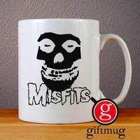The Misfits Skull Face Ceramic Coffee Mugs