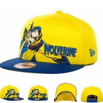 DCCKUN7 Marvel Character Hero Stance Snapback 9fifty Cap Cap Snapback Hat - Ready Stock