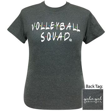 Girlie Girl Originals Preppy Volleyball Squad T-Shirt