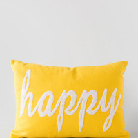 Happy Pillow 14 X 20