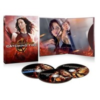 Catching Fire (Blu-ray/DVD/Digital)(Bonus Disc)+ Free Fabric Poster With Any Pre-order - Only at Target