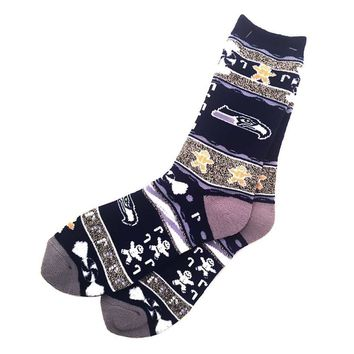 NFL Seattle Seahawks Ugly Xmas Socks [Men's Large]