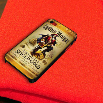 Captain Morgan Rum Original Spiced Gold iPhone 4 iPhone 4S Case