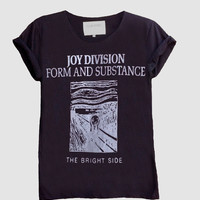 Joy Division Form And Substance Fine Jersey Unisex T-Shirt