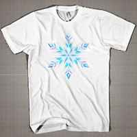 ELSAS SNOWFLAKE FROZEN  Mens and Women T-Shirt Available Color Black And White