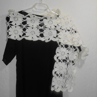 CLEARENCE Snow white scarf/scarves / Bridal scarves