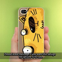 Doodle United Funny Sily Wacky Cartoon iPhone Case for iPhone 5, iPhone 4/4S Hard Cover Plastic