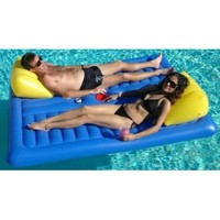 Face to Face Floating Pool Lounger w/ Ice Bucket