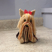Yorkie - Stuffed Animal - Amigurumi - Toy