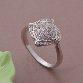 Gift New Arrival Shiny Stylish Jewelry Silver Accessory 925 Ring [7495437895]