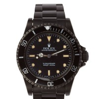 Black Limited Edition Matte Black Limited Edition Rolex Submariner 5513 Watch