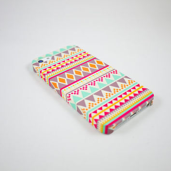 Aztec Geometric  iPhone 5 Case iPhone 5 Cover Hard by happyrabbitz