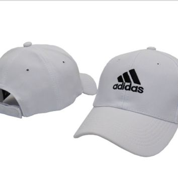White Cool Embroidered Baseball Cap