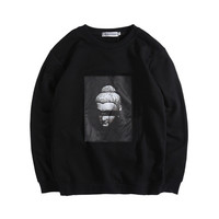Hip-hop Cotton Hoodies [8598663875]