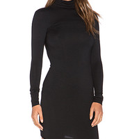 Solange Mini Dress in Black