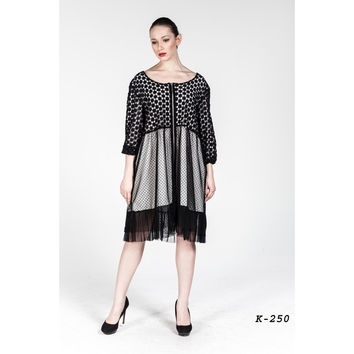 Plus size Lace Tull Dress