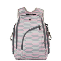 Geometric Design Nappy Diaper bag by Baby in Motion