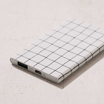 Slim Grid Portable Power Charger | Urban Outfitters