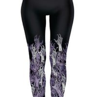Walking Dead Zombie Hands Sublimation Leggings