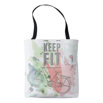 Keep Fit Tote Bag