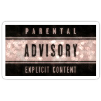 PARENTAL ADVISORY EXPLICIT CONTENT LOGO