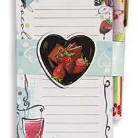 Chocolate Magnetic Shopping List Notepad
