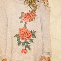 Thorns and Roses Embellished Tunic FINAL SALE!