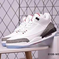 NIKE AIR JORDAN 3 Series Classic Culture Basketball Shoes F-CSXY