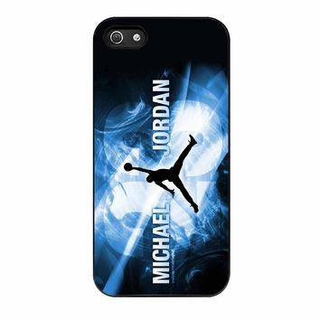 Michael Jordan Flying NBA Basket iPhone 5 Case