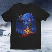Throne Wars TV Movie Mashup I Am the Sword in the Darkness Watcher on the Walls  t-shirt tee shirt Mens Ladies Womens COD-073