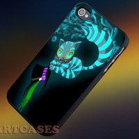 Cheshire Cat Alice in Wonderland iphone 4/4s case, iphone 5/5s,iphone 5c, samsung s3 i9300 case, samsung s4 i9500 case in SmartCasesStore.