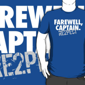 Limited Edition 'Farewell, Captain.' Derek Jeter Yankees Tribute T-Shirt