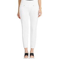 Spanx Signature Cropped Jeans - White