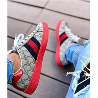 Gucci Classic Fashion Woman Men Sport Shoes Sneakers I/A
