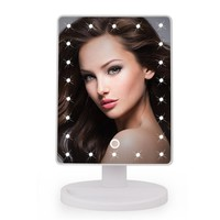 LED Professional Style Vanity Touch Screen Makeup Mirror