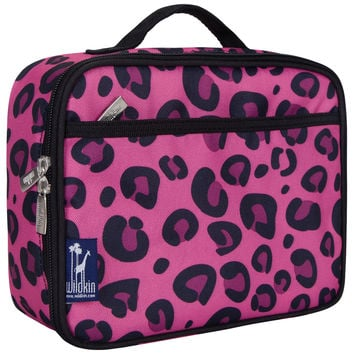 Pink Leopard Lunch Box - 33214