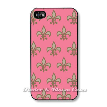Fluer De Lis - Case for iPhone 5 and Iphone 4/4S. FREE SHIPPING - Worldwide.